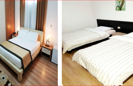 Hotel for rent in Tirana, Albania (2 km from the Skanderbeg Square)!